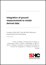 Integration of ground measurements with model-derived data