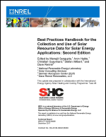 Best Practices Handbook for the Collection and Use of Solar Resource Data for Solar Energy Applications: Second Edition
